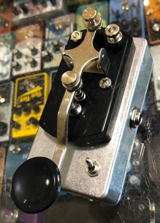Coppersound Pedals Telegraph Stutter Momentary Silent Switch w/ Polarity Switch Guitar Pedal Grey