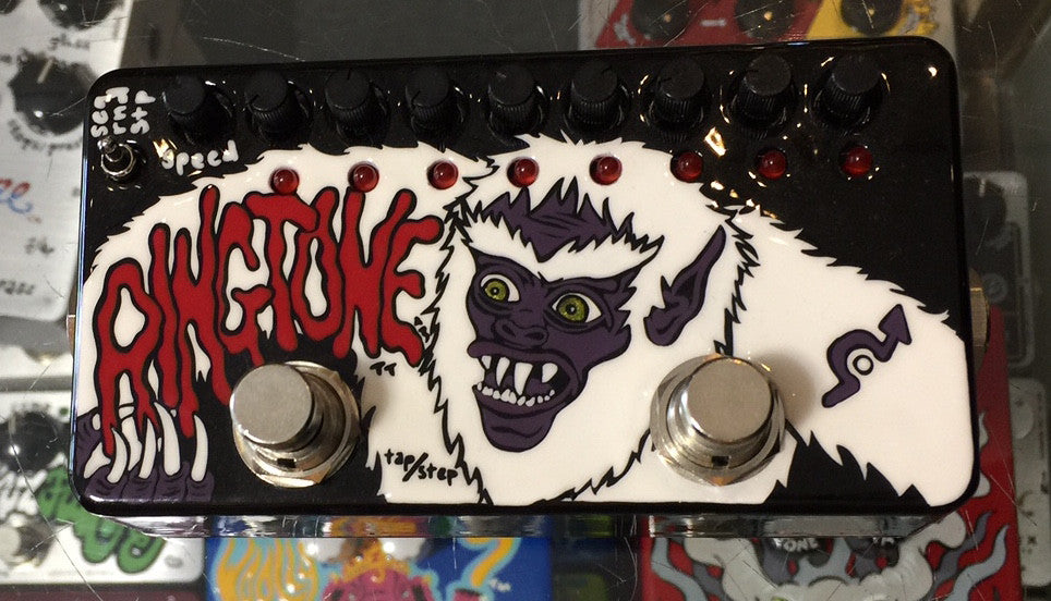 Zvex USA Made Hand Painted Ringtone Modulation Sequence One of One Guitar Pedal Yeti