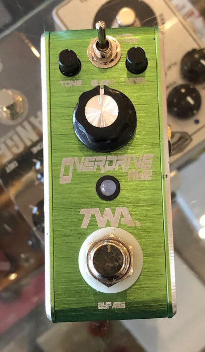 Used TWA FB-02 Overdrive Guitar Effect Pedal