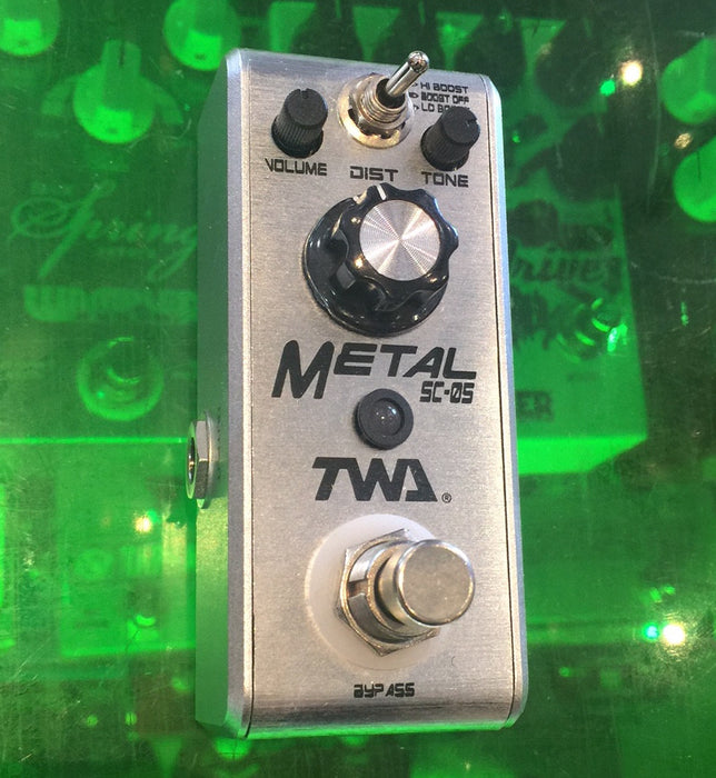 TWA Fly Boys Series SC-05 Metal Distortion Guitar Effect Pedal Discontinued Finish!!