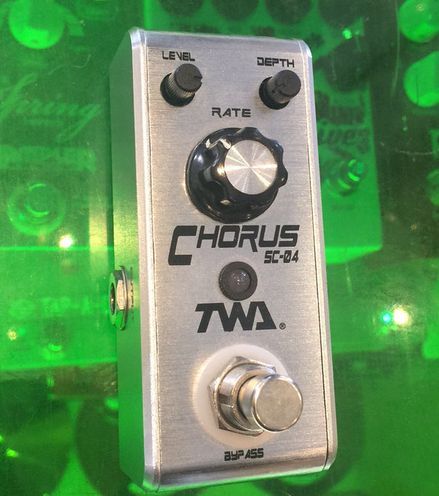TWA Fly Boys Series SC-04 Chorus Guitar Effect Pedal Discontinued Finish!!!