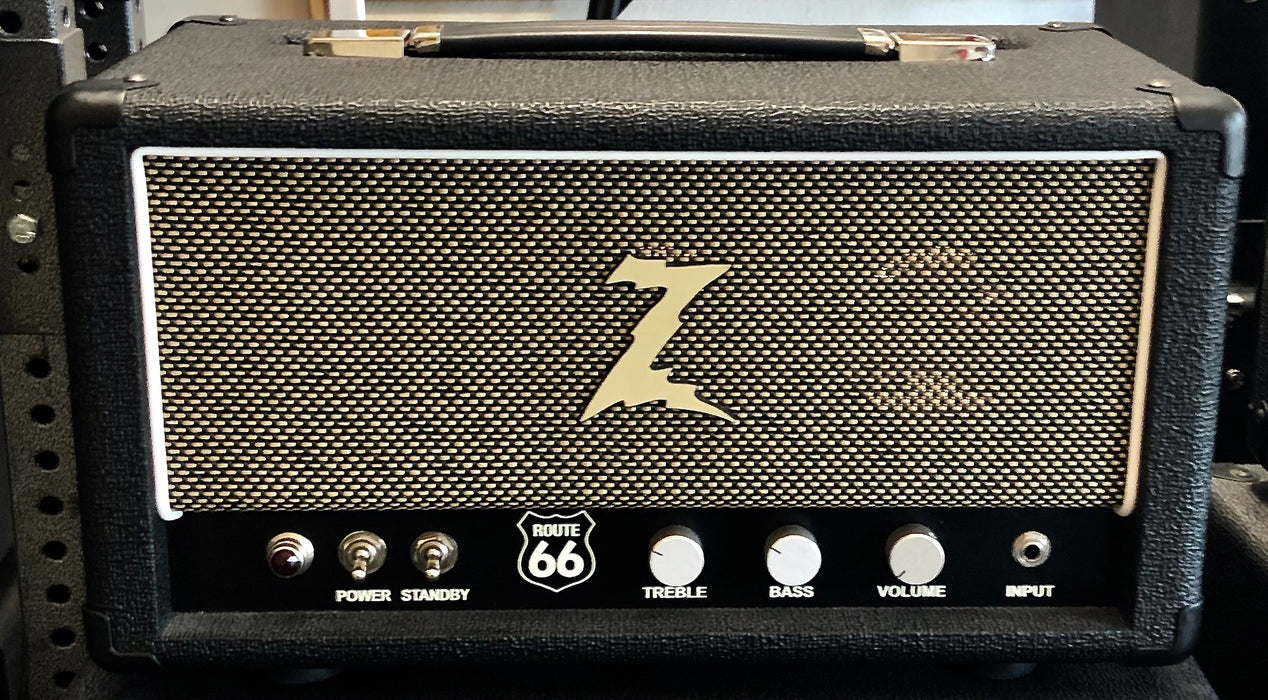 Dr Z Route 66 32 Watt KT-66 Tube Head Black