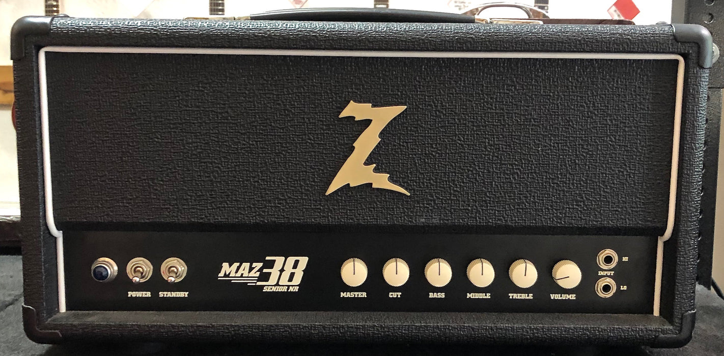 Dr Z Maz 38 NR 38 Watt EL-84 Tube Head