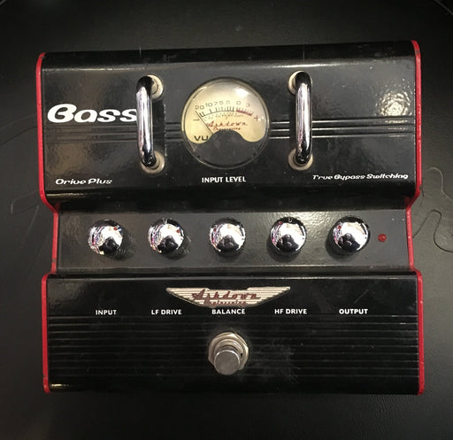 Used Ashdown Bassdrive Plus Bass Overdrive Effect Pedal