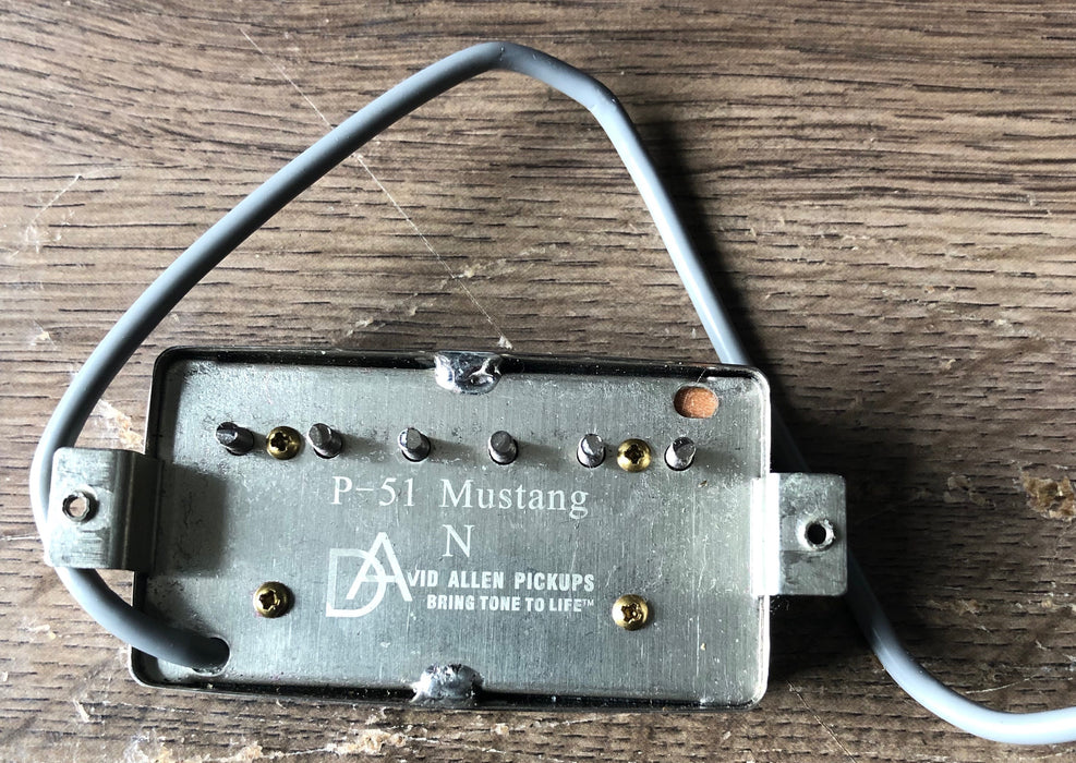 Used David Allen Pickups P-51 Mustang Humbucker Neck Position