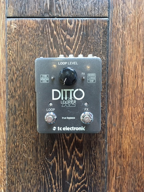 Used TC Electronics Ditto X2 Looper Guitar Effect Pedal
