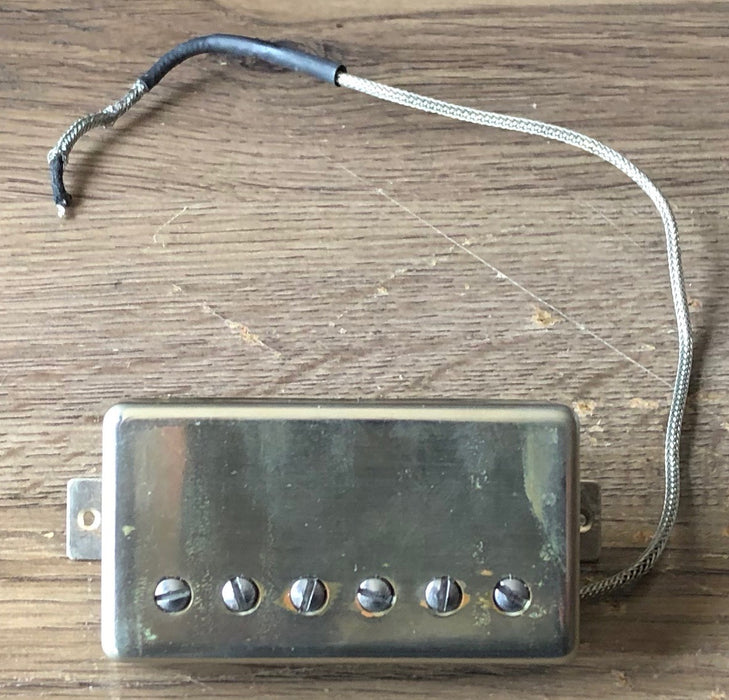 Used Duncan Antiquity Humbucker Guitar Pickup Nickel Cover