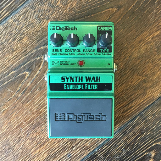 Used Digitech Synth Wah Envelope Filter Effect Pedal