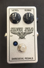 Used Daredevil Pedals Silver Solo Boost Effect Pedal With Box