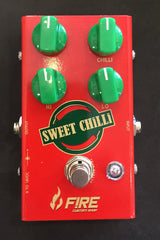 Used Fire Custom Shop Sweet Chilli Overdrive Guitar Effect Pedal With Box