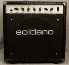 Used Soldano Astroverb 16 Combo Guitar Amplifier 20 Watt EL84 Tube Combo