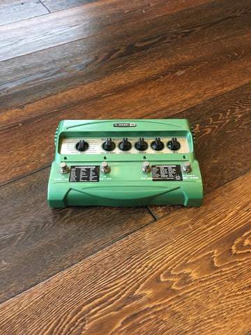 Used Electro Harmonix Hog Guitar Synthesizer With Foot Controller Guitar Effect Pedal