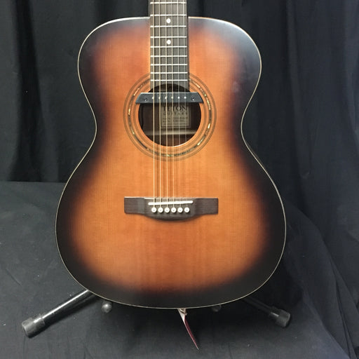 Used Teton STG100DVB-OP Acoustic Guitar With Added Pickup and Bag