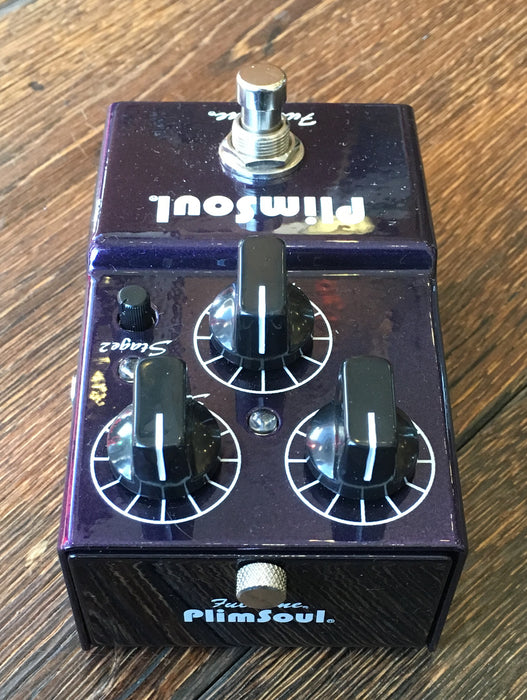 Used Fulltone Plimsoul Overdrive Fuzz Guitar Effect Pedal With Box