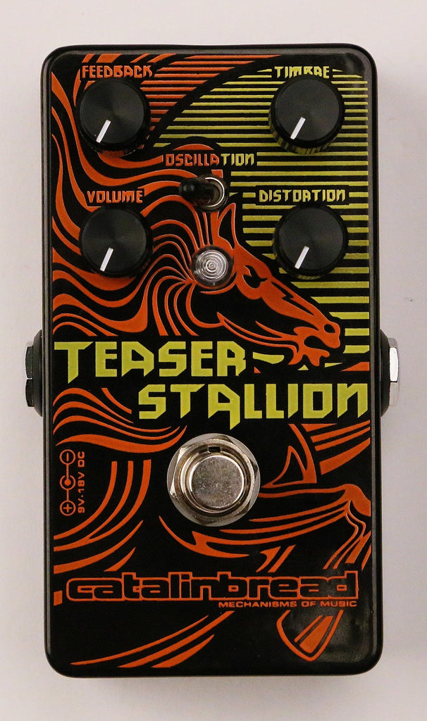 Catalinbread Teaser Stallion Distortion Guitar Pedal