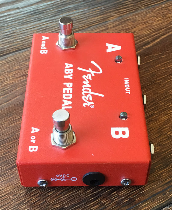 Used Fender ABY Switch Pedal