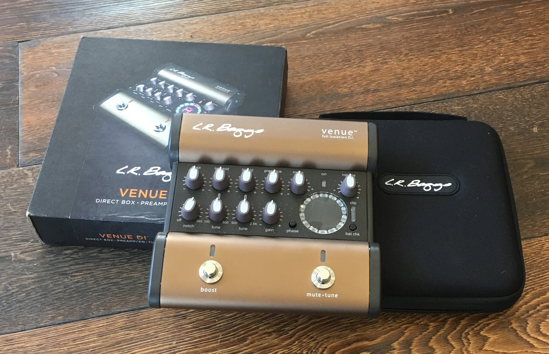 Used LR Baggs Venue DI Pedal With Box