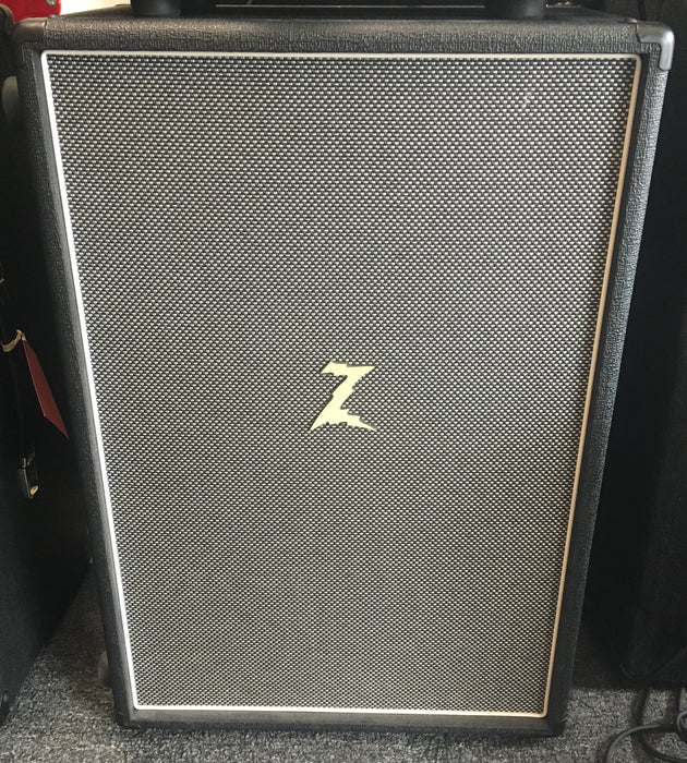 "Dr Z Z-Best 2x12"" Closed Back Guitar Amplifier Cabinet - Black/ Salt and Pepper"