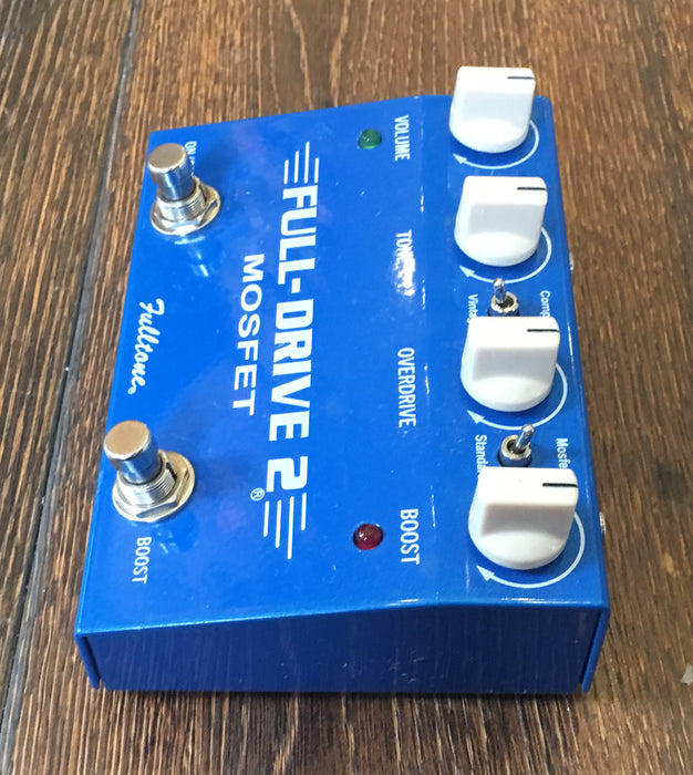 Used Fulltone Fulldrive 2 Overdrive Guitar Effect Pedal With Box