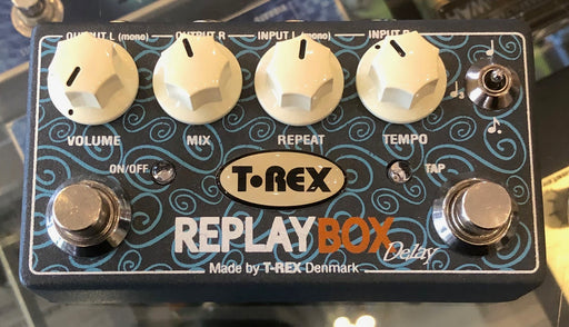 Used T-Rex Engineering Replay Box Delay Guitar Effect Pedal