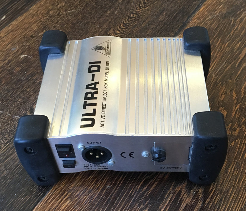 Used Behringer Ultra DI Active DI Box With Box