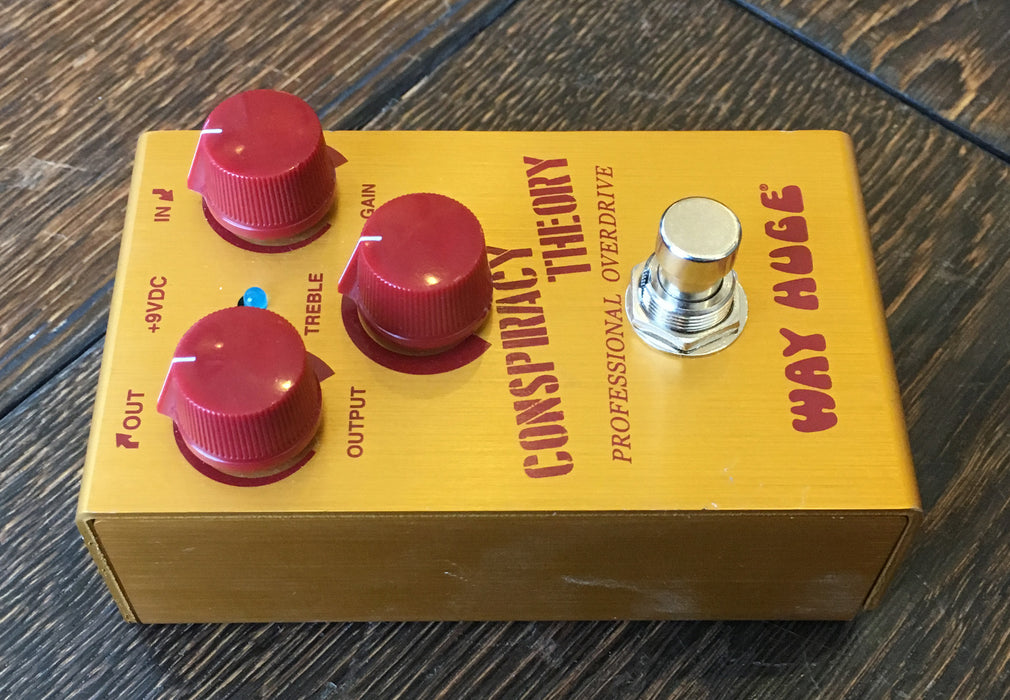 Used Way Huge Conspiracy Theory Overdrive Effect Pedal With Box