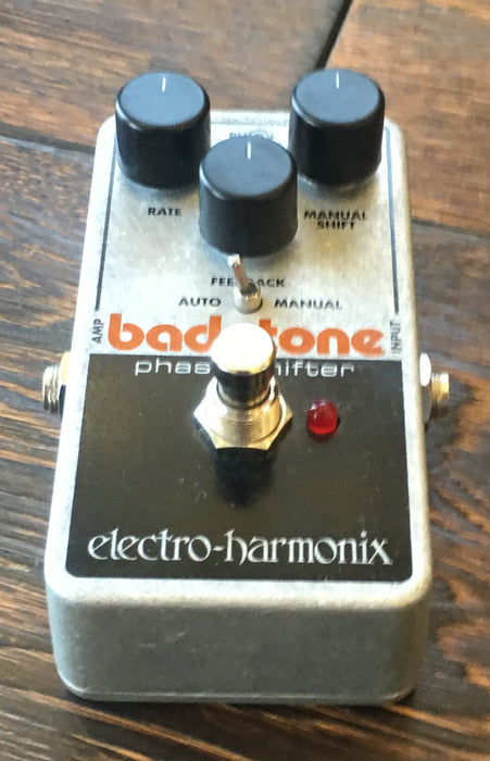 Used Electro-Harmonix Bad Stone Phase Shifter Guitar Effect With Box