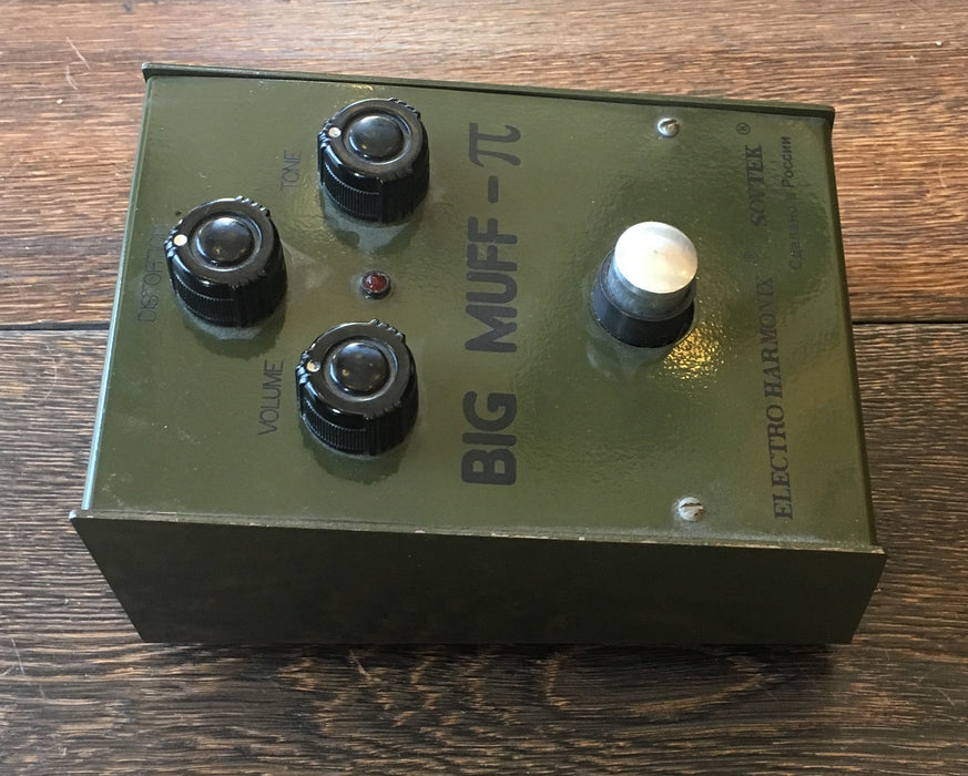 Used Electro-Harmonix 90s Russian Big Muff Fuzz Guitar Effect