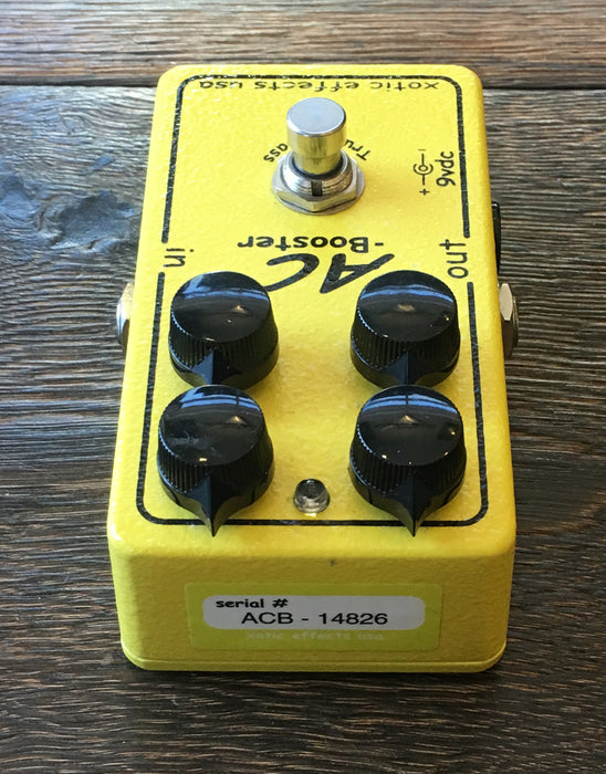 Used Xotic Effects AC Booster Overdrive Boost Pedal With Box