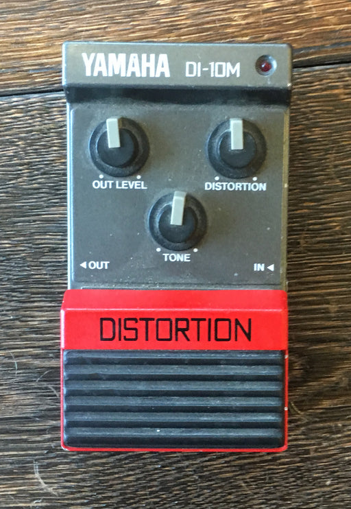 Used Yamaha Made in Japan DI-10M Distortion Guitar Effect Pedal