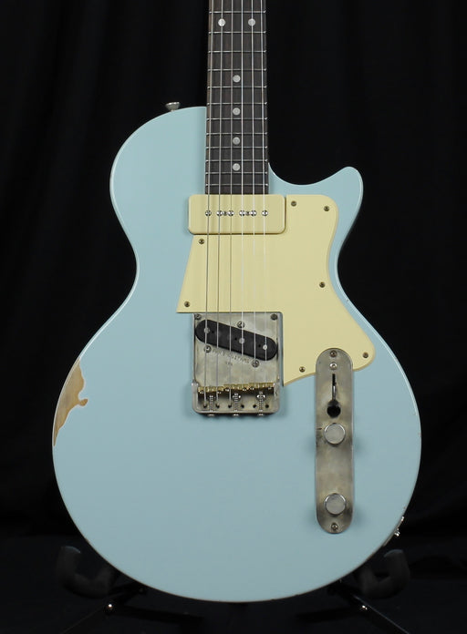 Fano SP6 Standard Ice Blue Metallic Distressed Finish With Gig Bag