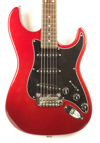 Used G&L USA Made Legacy Electric Candy Apple Red Guitar With OHSC