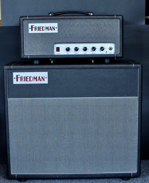 Pre Owned Friedman Dirty Shirley 20w EL84 Mini Head and 1x12 Scumback Speaker Cabinet Set