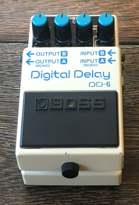 Used Boss DD-6 Delay Guitar Effect Pedal