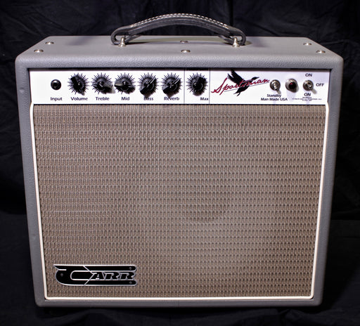 Carr Amps Sportsman 19 Watt 1x12 6V6 Tube Guitar Amplifier Combo Black