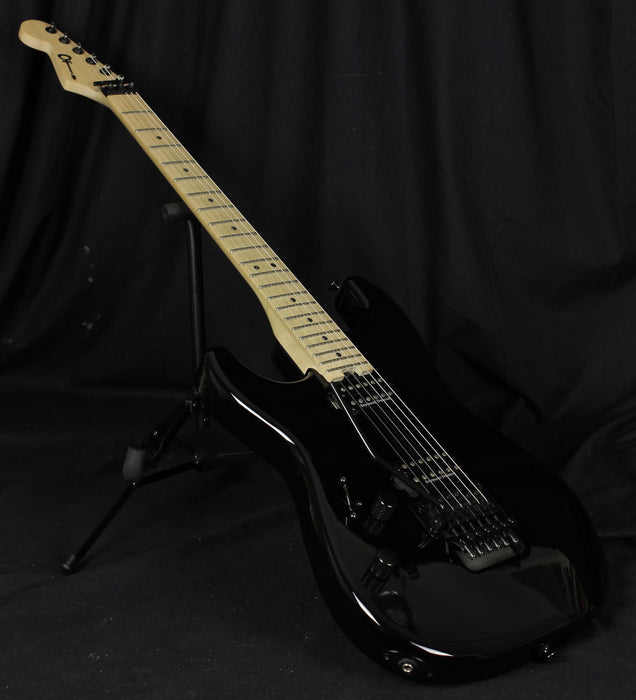 Used Charvel Left Handed Pro Mod San Dimas Style 1 HH FR Lefty Electric Guitar Black