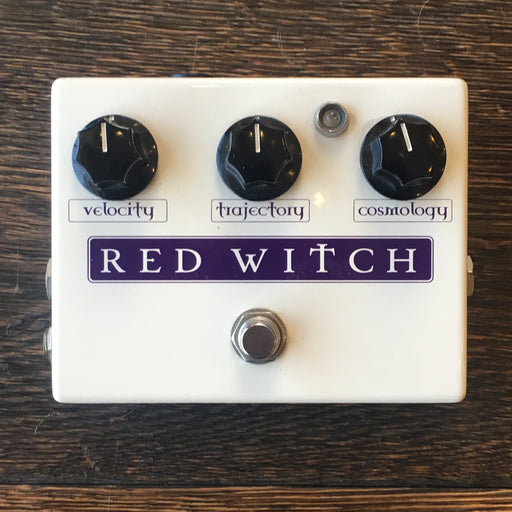 Used Red Witch Deluxe Moon Phaser Guitar Effect Pedal