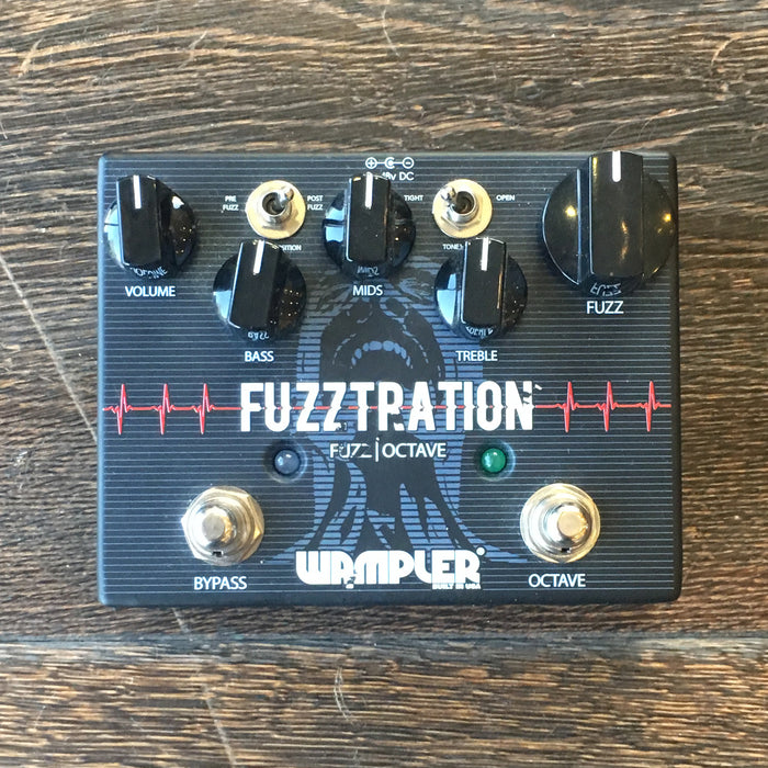 Used Wampler Fuzztration Fuzz Guitar Effect Pedal