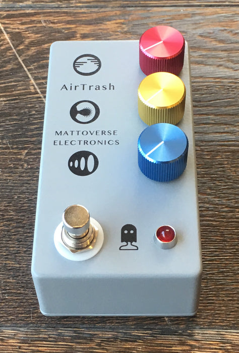 Used Mattoverse Electronics Airtrash Distortion Guitar Effect Pedal