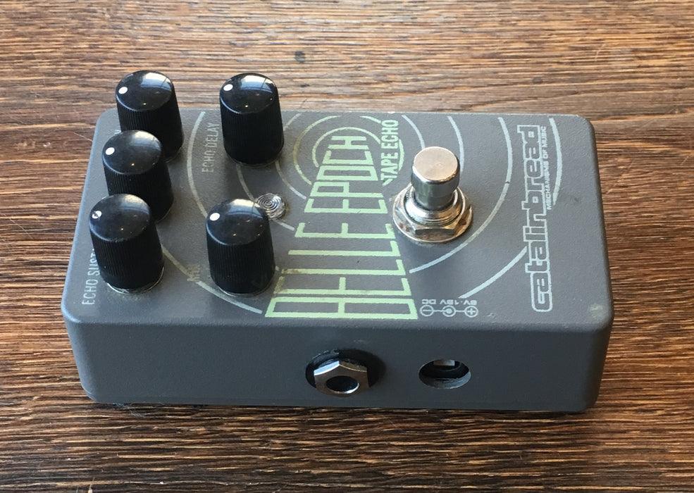 Used Catalinbread Belle Epoch Tape Echo Delay Guitar Effect Pedal With Box