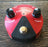 Used Dunlop Fuzz Face Mini Red Germanium Guitar Effect Pedal With Box
