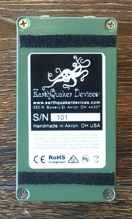 Used Earthquaker Devices Plumes Overdrive Guitar Effect Pedal W/ Box