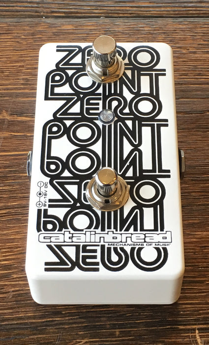 Used Catalinbread Zero Point Flanger Guitar Effect Pedal With Box