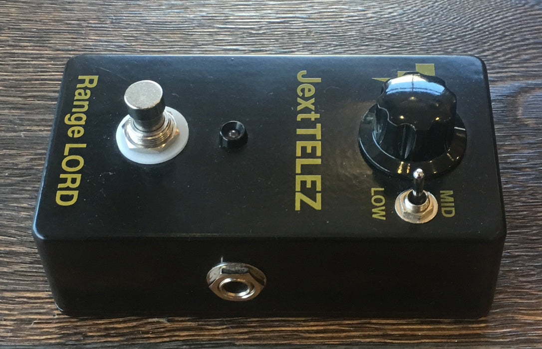 Used Jext Telez Range Lord Treble Booster Guitar Effect Pedal