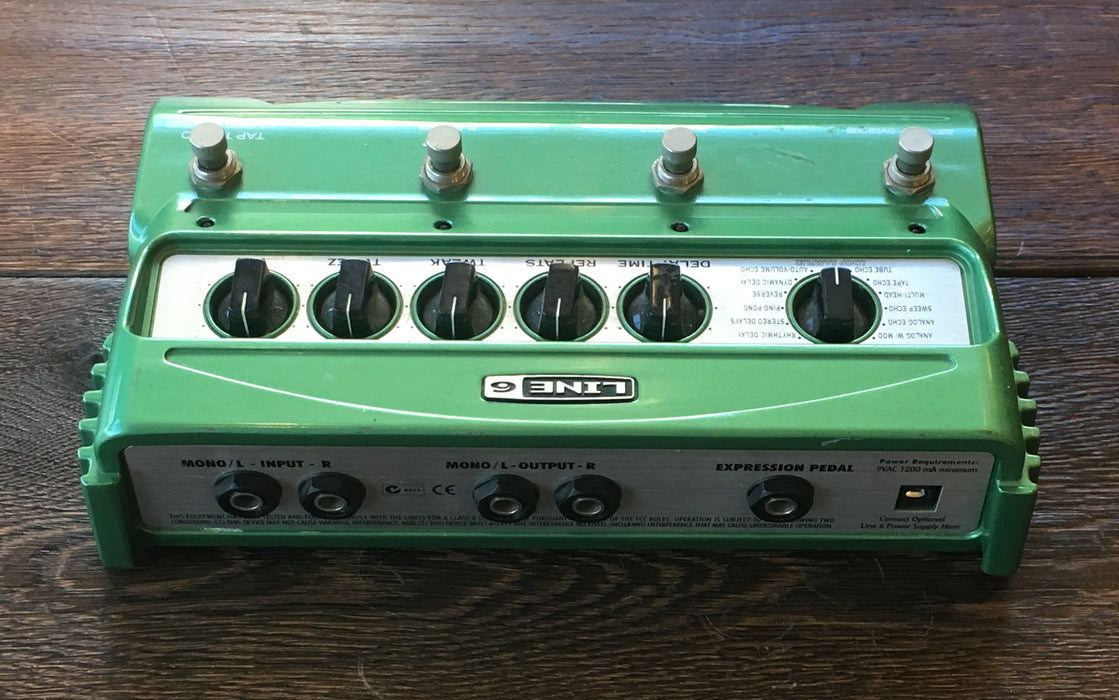 Used Line 6 DL4 Delay Guitar Effect Pedal With Power Supply