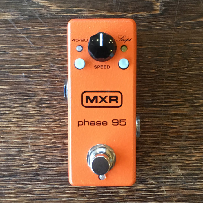 Used MXR Phase 95 Mini Phaser Guitar Effect Pedal With Box and Power Supply