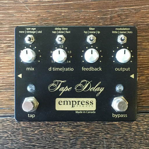Used Empress Effects Tape Delay Guitar Effect Pedal