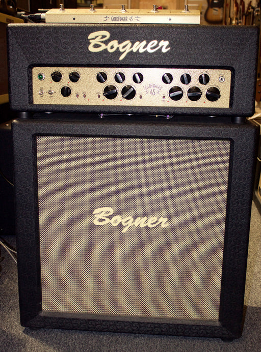 Bogner Goldfinger 45-Watt Head and 2x12 Goldfinger Cabinet Set!