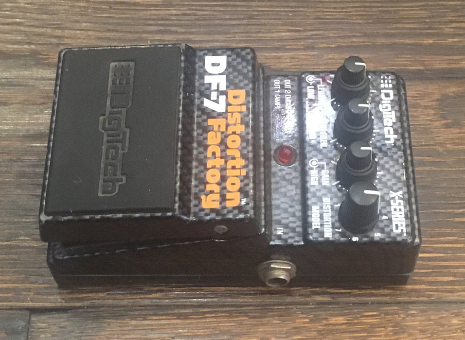 Used Digitech X-Series DF-7 Distortion Factory Guitar Effect Pedal