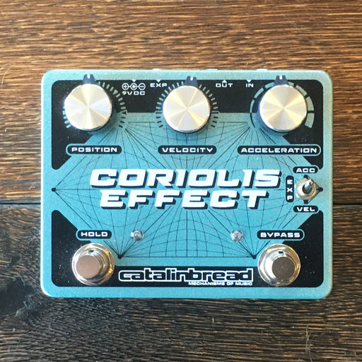 Used Catalinbread Coriolis Effect Sustainer/Wah/Filter/Pitch-Shifter/Harmonizer Guitar Effect Pedal
